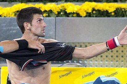 """Djokovic: """"Ganará en Madrid el que no se haga daño al final de la semana"""""""