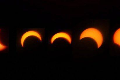 Millones de asiáticos y americanos observan el eclipse anular de sol