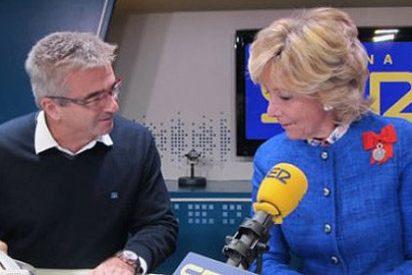 Esperanza Aguirre se 'come crudo' a Carles Francino en la Cadena SER