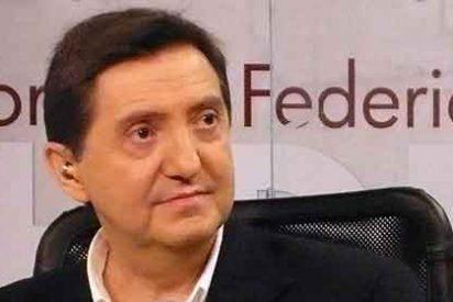 """Jiménez Losantos le pinta la cara al nuevo marido de Telma Ortiz: """"No nos des lecciones hasta que no hayas devuelto el sueldo que el Ayuntamiento de Barcelona le dio a tu mujer por ser quién es"""""""