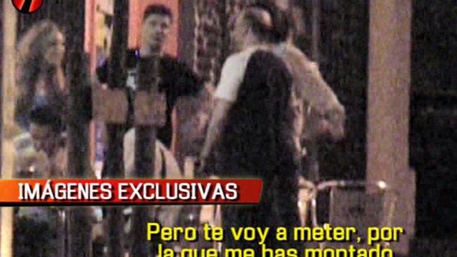 Increíble: acusan a una agencia de noticias de pagar a unos tipos para que se peleen con el marido de la Esteban y así vender las imágenes
