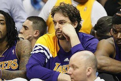 Los Lakers de un gris Pau Gasol se llevan un varapalo de órdago