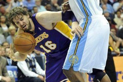 Pau Gasol brilla en la victoria de los Lakers ante los Nuggets (88-92)