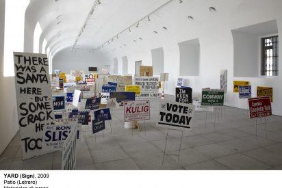 El arte de la pancarta, palabras hechas actos