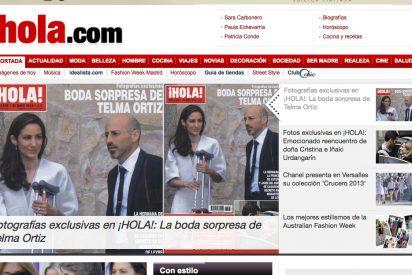 Aparecen las primeras imágenes de la boda secreta de Telma Ortiz
