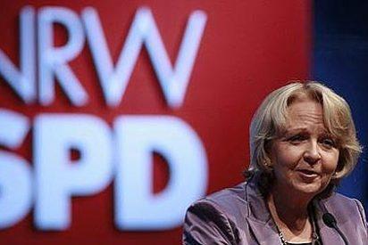 Gran derrota del partido de Merkel en el Estado alemán más poblado