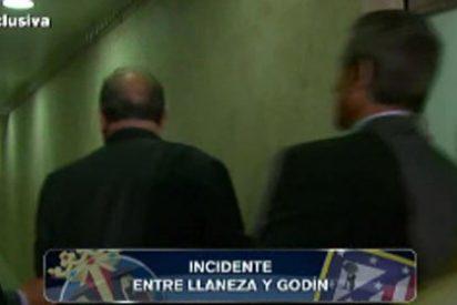 """El vicepresidente del Villarreal pierde los papeles y llama """"golfo sinvergüenza"""" al futbolista del Atlético Godín"""