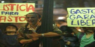 Manifestación en Lima para pedir al cardenal Cipriani que revierta la sanción al padre Garatea