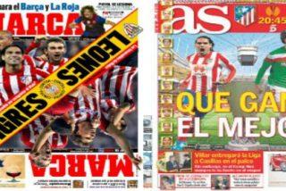 """La final de la Europa League divide a la prensa española: """"Tigres contra Leones"""" y """"Que gane el mejor"""""""