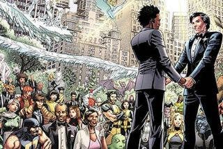 Marvel celebra la primera boda gay entre superhéroes en 'X-Men'