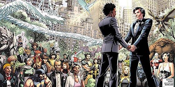Marvel celebra la primera boda gay entre superhéroes en 'X-Men'