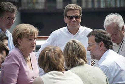 Mariano Rajoy dice que cuenta con el apoyo de Angela Merkel