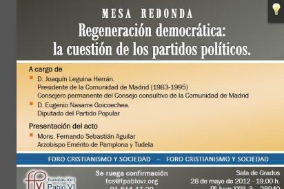 Regeneración democrática: la cuestión de los partidos políticos