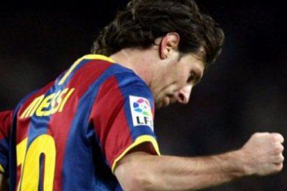 Messi le hace al Málaga tres goles y adelanta a Cristiano Ronaldo
