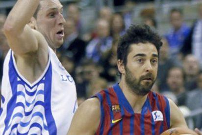 La defensa del Barcelona asfixia a un desacertado Lucentum Alicante