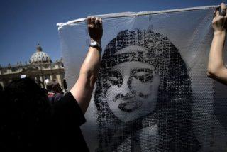 Manifestantes critican la falta de interés del Papa por el caso Orlandi