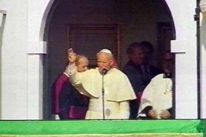El Rocío y Juan Pablo II