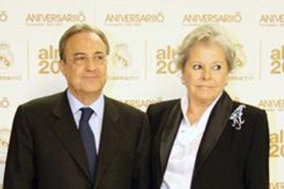 'Pitina', la mujer de Florentino Pérez, fallece tras sufrir un infarto