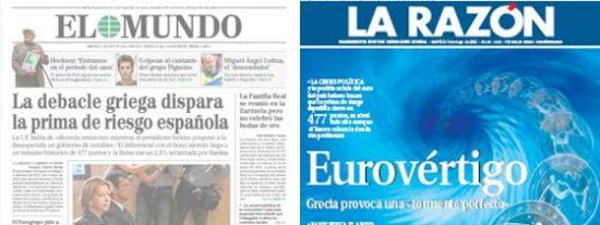 La prensa desahucia a Grecia y nos prepara para el desastre