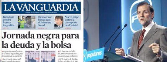 Rajoy sale de su madriguera pero los mercados no le hacen ni caso