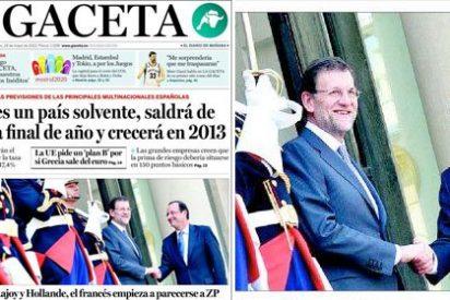 La Razón y La Gaceta profetizan que en 2013 España empezará a crecer