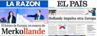 Espasmos de la izquierda española por la victoria de Hollande