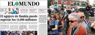 La prensa de derechas ataca el 15-M cuando El País lo da por liquidado