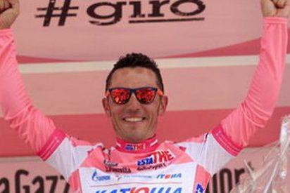 'Purito' Rodríguez gana la etapa y refuerza su liderato en el Giro
