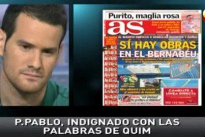 """Pedro Pablo San Martín llama cabreado a 'Punto Pelota' y revela que las fotos de las obras del Bernabéu publicadas en 'AS' """"son robadas"""""""