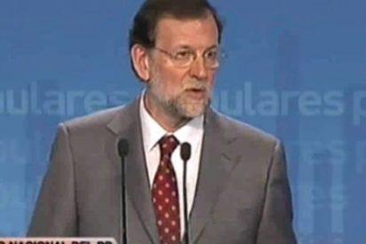 """Rajoy: """"Le aseguro que el PP sí paga el IBI de Génova, del resto de las sedes espero que sí"""""""