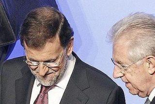 Monti invita a Rajoy a su reunión con Merkel en Roma