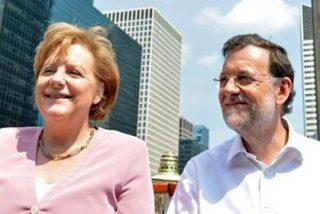 """Rajoy suscribe la """"ley seca"""" de Merkel en el Chicago de Al Capone"""