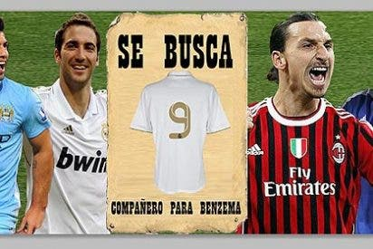 ¿Quién prefieres de '9' en el Real Madrid si se marcha Higuaín?