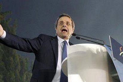El conservador Samaras se alza con una ajustada victoria en Grecia
