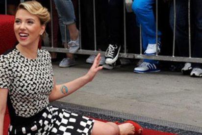 Scarlett Johansson ya tiene su estrella en el Paseo de la Fama