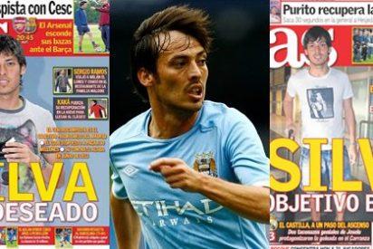 'As' calca una portada de hace dos años para insistir en el fichaje de Silva por el Real Madrid