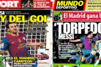 La prensa deportiva catalana 'se olvida' del Real Madrid campeón de Liga