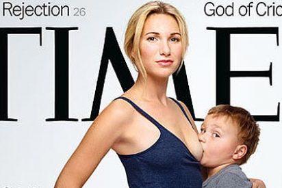Bronca con 'Time' por sacar en portada a una mujer dando de mamar