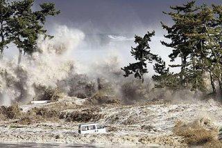 El devastador tsunami de Japón también se dejó sentir en el cielo
