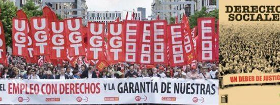 """""""Las reformas laborales siguen ahondando en un modelo social profundamente inmoral"""""""