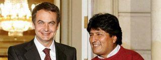 ZP dio fuertes donaciones a Bolivia y perdonó su deuda