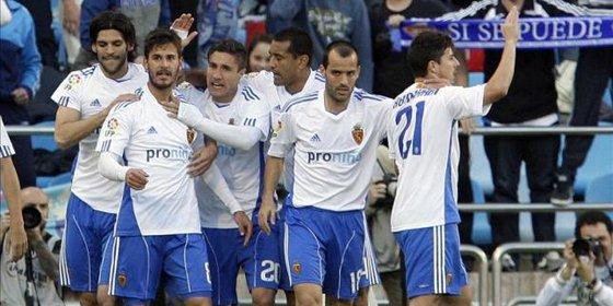 El Zaragoza sigue soñando con la salvación tras vencer al Levante