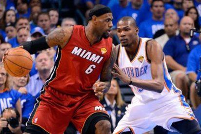 Durant y Westbrook asestan el primer golpe a los Heat de Lebron