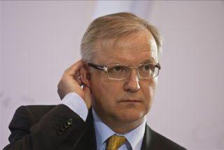 """Olli Rehn: """"La ayuda a España no exigirá nuevos ajustes"""""""
