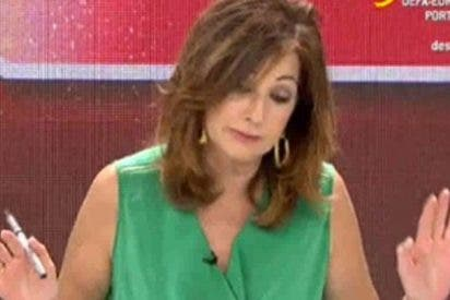 """Ana Rosa Quintana sobre la crisis económica: """"¡En España hay gente que come macarrones hace demasiado tiempo!"""""""