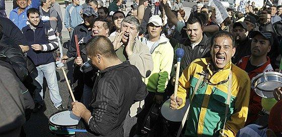 Cristina sufre la primera huelga general de la 'era Kirchner'