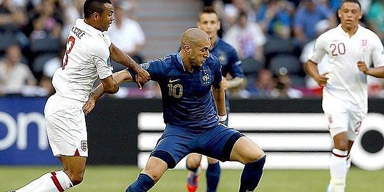 Francia, otro de los favoritos en la Eurocopa, empata con Inglaterra