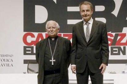 El milagro de Santa Teresa no alcanza para evitar un atronador abucheo a ZP en Ávila