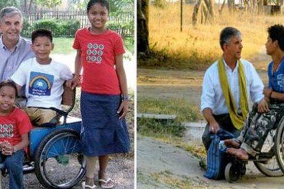 Emergencia alimentaria del 'obispo de las silla de ruedas'