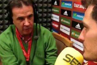 """Iker Casillas se excusa ante De la Morena (SER) por atender a todos los medios a contrarreloj: """"No ha sido por perjudicar al periodismo"""""""